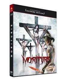 Morituris - Das Böse gewinnt immer (Cinestrange Extreme Edition, Mediabook, Blu-ray+DVD, Cover C) [FSK 18] [Blu-ray]
