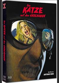 Die Katze mit den Jadeaugen (Limited Mediabook, Blu-ray+DVD, Cover C) (1977) [FSK 18] [Blu-ray]