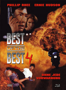 Best of the Best 4 (Limited Mediabook, Blu-ray+DVD, Cover A) (1998) [FSK 18] [Blu-ray]