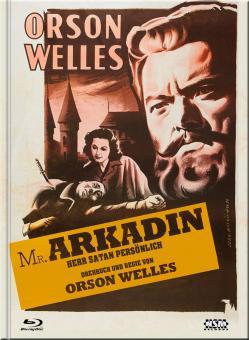 Herr Satan persönlich (Mr. Arkadin) (Limited Mediabook, Blu-ray+DVD, Cover D) (1955) [Blu-ray]