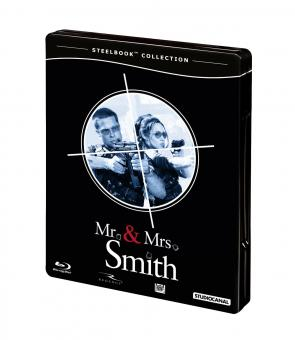 Mr. & Mrs. Smith (Steelbook) (2005) [Blu-ray]