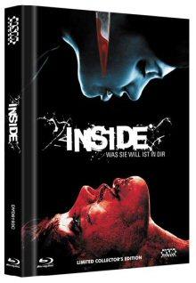 Inside - Was Sie will ist in Dir (Uncut Limited Mediabook, Blu-ray+DVD, Cover C) (2007) [FSK 18] [Blu-ray]