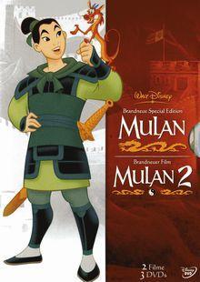 Mulan Box-Set (3 DVDs) [Gebraucht - Zustand (Sehr Gut)]