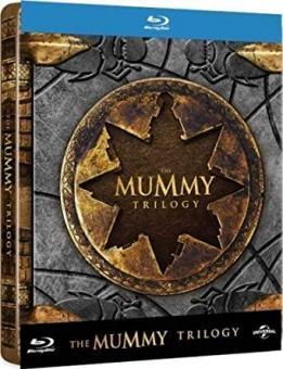 Die Mumie Trilogie (3 Discs, Limited Steelbook) [UK Import mit dt. Ton] [Blu-ray]