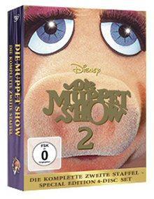 Die Muppet Show - Die komplette zweite Staffel (Special Edition, 4 Discs)