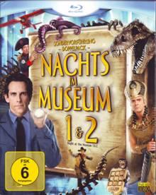 Nachts im Museum 1+2 (2 Discs) [Blu-ray]