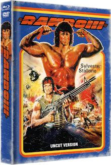 Rambo 3 (Limited Mediabook, Blu-ray+DVD, Cover A) (1988) [FSK 18] [Blu-ray]