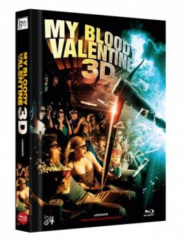 My Bloody Valentine (Limited Mediabook, Blu-ray+DVD, Cover C) (2009) [FSK 18] [3D Blu-ray]