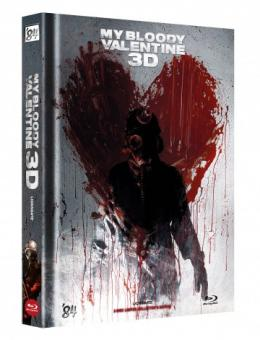 My Bloody Valentine (Limited Mediabook, Blu-ray+DVD, Cover D) (2009) [FSK 18] [3D Blu-ray]