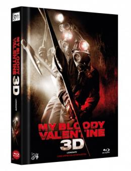 My Bloody Valentine (Limited Mediabook, Blu-ray+DVD, Cover B) (2009) [FSK 18] [3D Blu-ray]