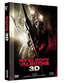 My Bloody Valentine (Limited Uncut Mediabook, Blu-ray+DVD, Cover A) (2009) [FSK 18] [3D Blu-ray]