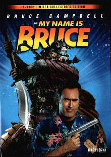My Name is Bruce (2 DVDs Limited Collector's Edition, Mediabook) (2007)