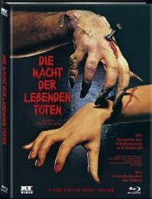Night of the Living Dead (Limited Mediabook Edition Cover A, Limitiert auf 666 Stück, Blu-ray+DVD) (1968) [FSK 18] [Blu-ray]