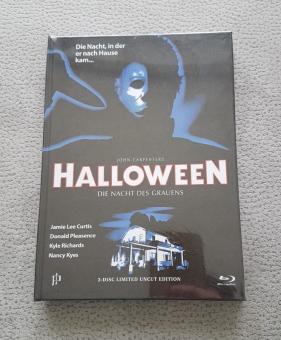 Halloween - Die Nacht des Grauens (Limited Mediabook, Blu-ray+DVD, Cover P) (1978) [Blu-ray]