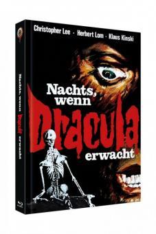 Nachts, wenn Dracula erwacht (4 Disc Limited Mediabook, Blu-ray+DVD, Cover A) (1970) [Blu-ray]