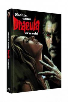 Nachts, wenn Dracula erwacht (4 Disc Limited Mediabook, Blu-ray+DVD, Cover B) (1970) [Blu-ray]