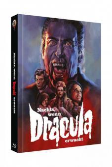 Nachts, wenn Dracula erwacht (4 Disc Limited Mediabook, Blu-ray+DVD, Cover C) (1970) [Blu-ray]