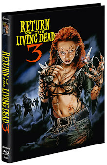 Return of the Living Dead 3 (Limited Mediabook, Blu-ray+2 DVDs, Cover A) (1993) [FSK 18] [Blu-ray]