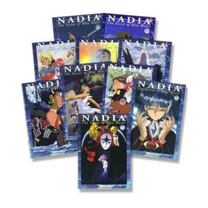 Nadia - The secret of blue Water, Vol. 01 bis 10; Komplettset (10 DVDs)