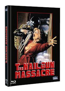 The Nailgun Massacre (Limited Mediabook, Blu-ray+DVD, Cover B) (1985) [FSK 18] [Blu-ray]