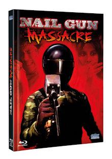 The Nailgun Massacre (Limited Mediabook, Blu-ray+DVD, Cover A) (1985) [FSK 18] [Blu-ray]