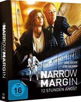 12 Stunden Angst - Narrow Margin (Limited Mediabook, Blu-ray+DVD) (1990) [Blu-ray]