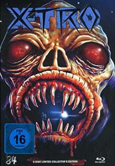 X-Tro - Nicht alle Außerirdischen sind freundlich (Limited Mediabook, Blu-ray+DVD+CD-Soundtrack, Cover I) (1982) [Blu-ray]
