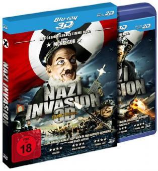 Nazi Invasion (3D Blu-ray+Blu-ray) (2010) [FSK 18] [3D Blu-ray]