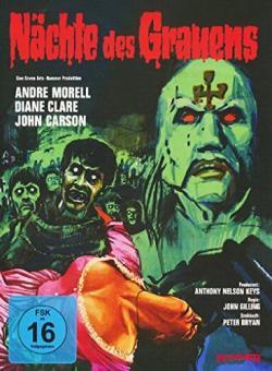 Nächte des Grauens (Mediabook, Cover A) (1966) [Blu-ray]