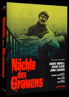 Nächte des Grauens (Mediabook, Cover B) (1966) [Blu-ray]