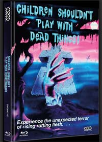 Children Shouldn't Play with Dead Things (Limited Mediabook, Blu-ray+DVD, Cover C) (1972) [FSK 18] [Blu-ray]