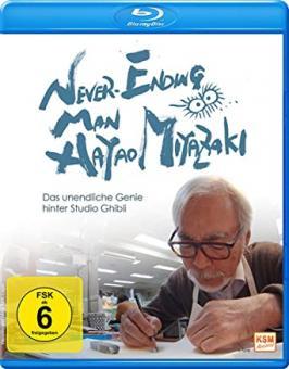 Never Ending Man: Hayao Miyazaki - Das unendliche Genie hinter Studio Ghibli (2016) [Blu-ray]