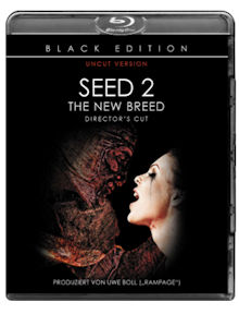 Seed 2 - The New Breed (Director's Cut) (Black Edition, Uncut) (2013) [Blu-ray]