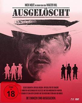 Ausgelöscht - Extreme Prejudice (Limited Mediabook, Blu-ray+DVD+CD, Cover B) (1987) [FSK 18] [Blu-ray]