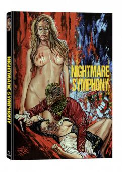 Nightmare Symphony (Limited Mediabook, Blu-ray+DVD, Cover B) (2020) [FSK 18] [Blu-ray]