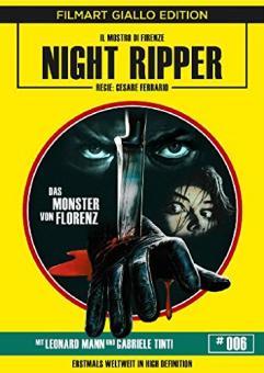 Night Ripper - Das Monster von Florenz (Limited Edition, Blu-ray+DVD) (1986) [FSK 18] [Blu-ray]