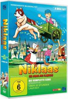 Niklaas, ein Junge aus Flandern (Gesamtbox, 4 DVDs)