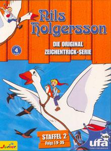 Nils Holgersson - Die Original Zeichentrick-Serie, Staffel 02 (Folge 19-35) (3 DVDs)
