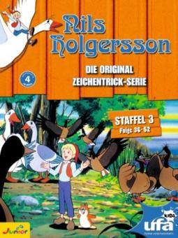 Nils Holgersson - Die Original Zeichentrick-Serie, Staffel 03 (Folge 36-52) (3 DVDs)