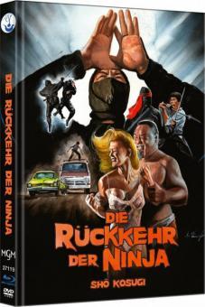 Ninja II - Die Rückkehr der Ninja (Limited Mediabook, Blu-ray+DVD, Cover A) (1983) [FSK 18] [Blu-ray]