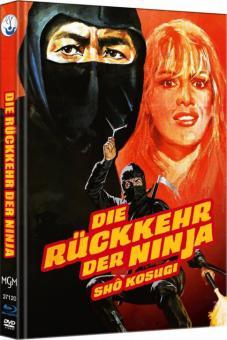Ninja II - Die Rückkehr der Ninja (Limited Mediabook, Blu-ray+DVD, Cover B) (1983) [FSK 18] [Blu-ray]