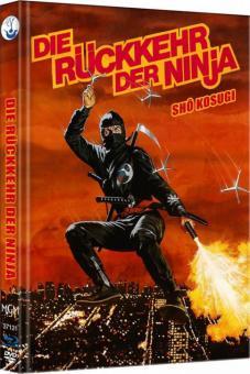 Ninja II - Die Rückkehr der Ninja (Limited Mediabook, Blu-ray+DVD, Cover C) (1983) [FSK 18] [Blu-ray]