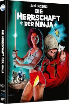Ninja III - Die Herrschaft der Ninja (Limited Mediabook, Blu-ray+DVD, Cover A) (1984) [FSK 18] [Blu-ray]