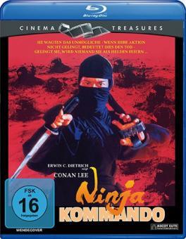 Ninja Kommando (1982) [Blu-ray]