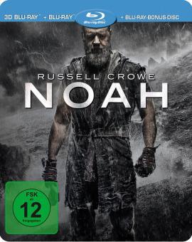 Noah (Limited Steelbook Edition, Blu-ray+3D Blu-ray) (2014) [3D Blu-ray]