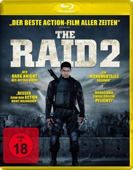 The Raid 2 - Ungeschnittene Fassung (2014) [FSK 18] [Blu-ray]