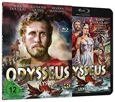 Die Fahrten des Odysseus (ungekürzt, Blu-ray+DVD) (1954) [Blu-ray]