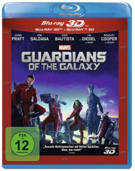 Guardians of the Galaxy (3D Blu-ray+Blu-ray) (2014) [3D Blu-ray]