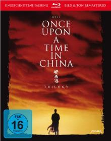 Once upon a time in China - Trilogy (3 Discs) [Blu-ray]