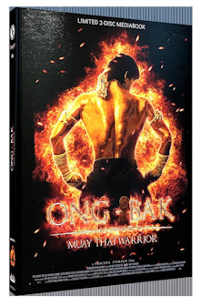 Ong-Bak (Limited Mediabook, Blu-ray+DVD, Cover A)  (2003) [Blu-ray]